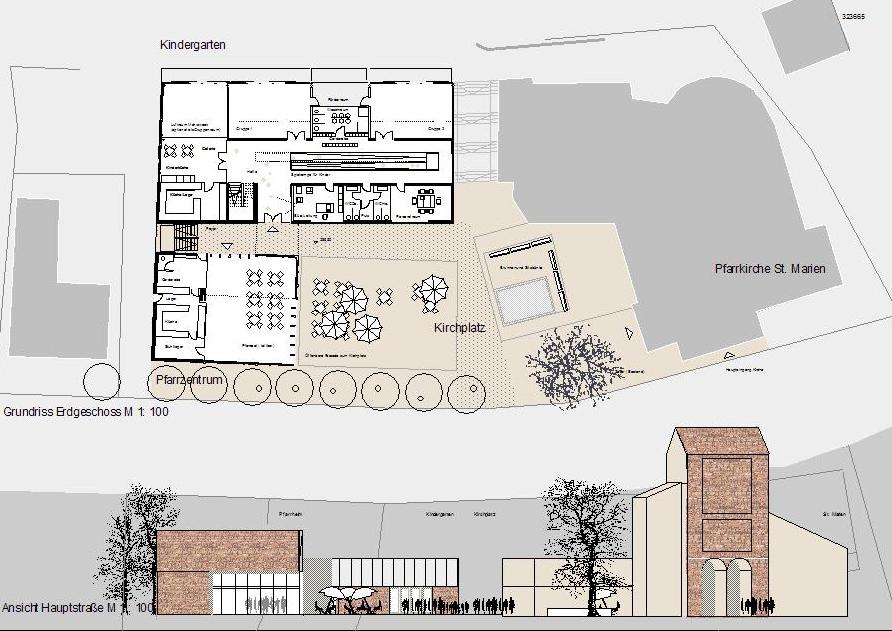 Berwanger-Architektur - 2003: Kindergarten Urweiler